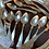 Thumbnail: Coin silver spoons