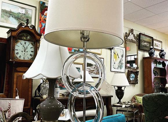 Lucite lamp