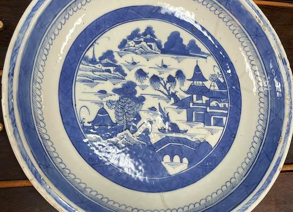Blue / White Plate