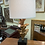 Thumbnail: Carved wood lamp