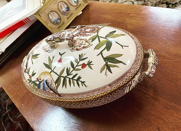 Antique Wedgewood covered dish