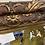 Thumbnail: Antique gilded mirror