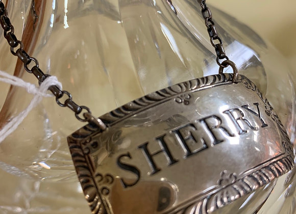 SHERRY sterling label
