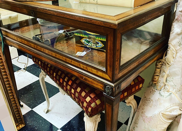 Display cabinet table