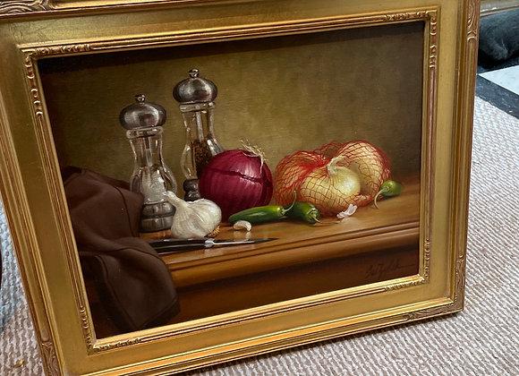 Oil on canvas, Sue Zylak