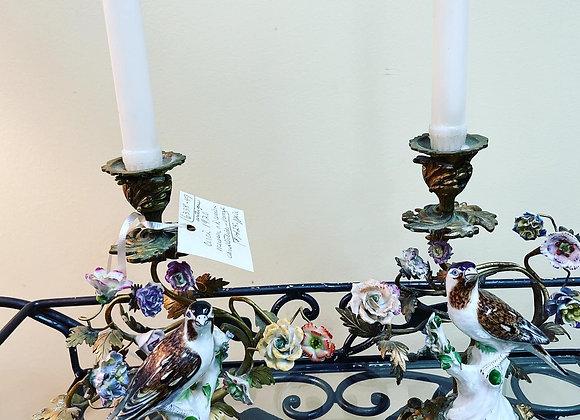 Dresden Candlesticks Antiques