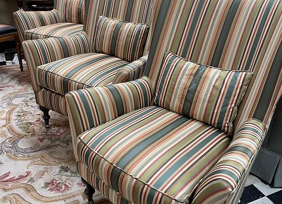 Arhaus Wing chairs