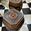 Thumbnail: Garden stools / antique , A PAIR.