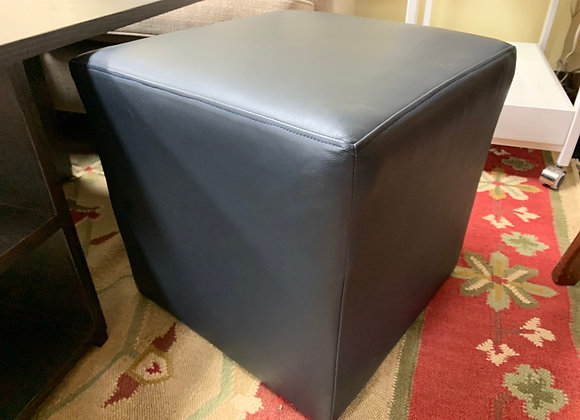 Two Ottomans, cubes, on wheels. Price is for each.