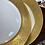 Thumbnail: Gold dinner plates