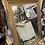 Thumbnail: antique gold mirror