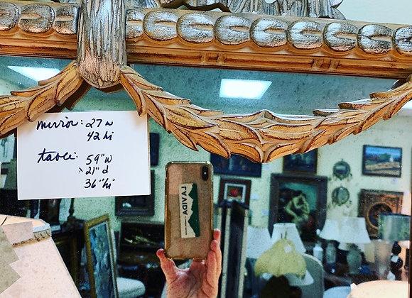 Mirror. 27 w x 42 hi