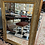 Thumbnail: Mirror. 33 x 45 , gilt with a touch of palest green.