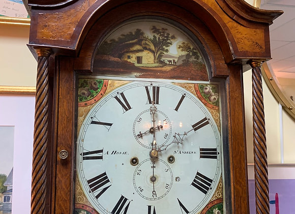 Grandfather clock - - antique
