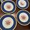 Thumbnail: Antique dinner plates (9)