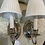 Thumbnail: Nickel sconces