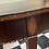 Thumbnail: Mahogany demilune table