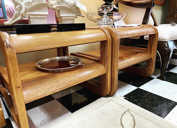 End Tables - Midcentury... LOU HODGE