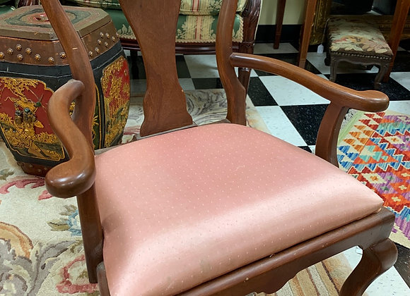 Child's chair, Queen Ann, mahogany, vintage.