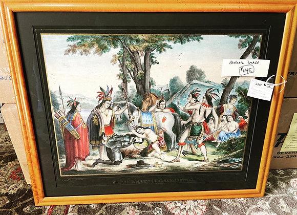 Pocahontas Rescues John Smith