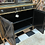 Thumbnail: Black, gold hutch, lit.