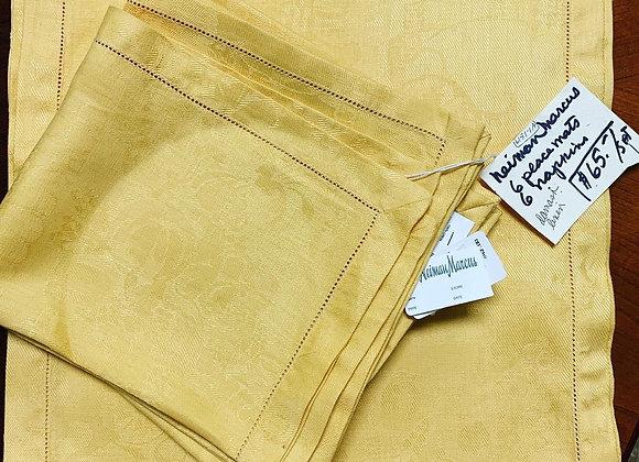 Neiman Marcus Cotton napkin / placemat set