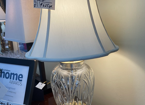 Waterford lamps (2)