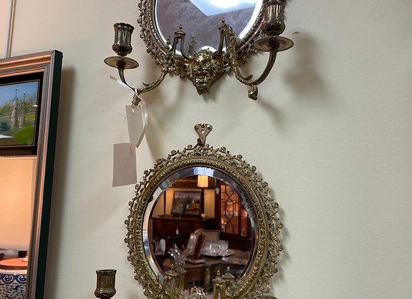 Tiffany and Company Bronze [ dore] Sconces.