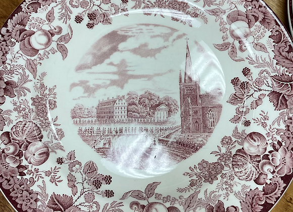 Harvard College Plates (12)