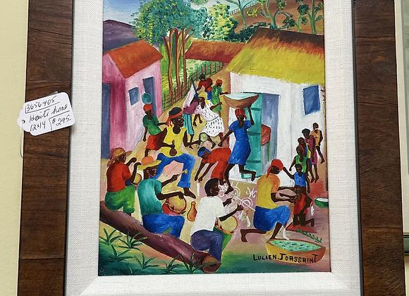 Original Haitian art