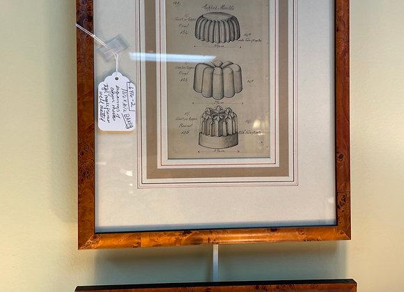 Pair of baking engravings