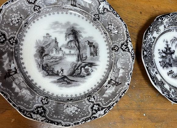 Pelew Pattern Dishes (2)