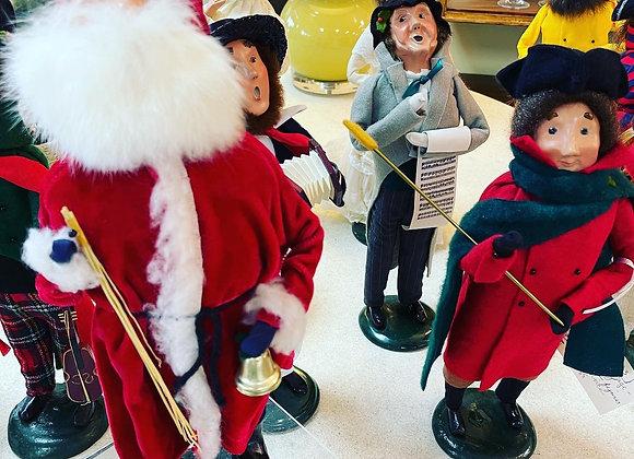 Holiday caroler figures