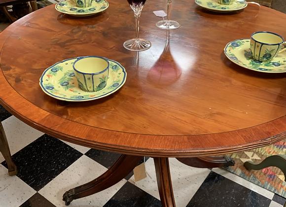 Round antique table