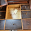 Thumbnail: Antique sewing table
