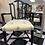 Thumbnail: One mahogany Antique armchair