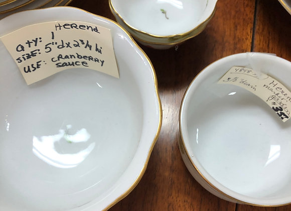 Herend small bowls. There are 3.