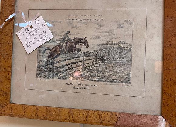 Antique lithograph