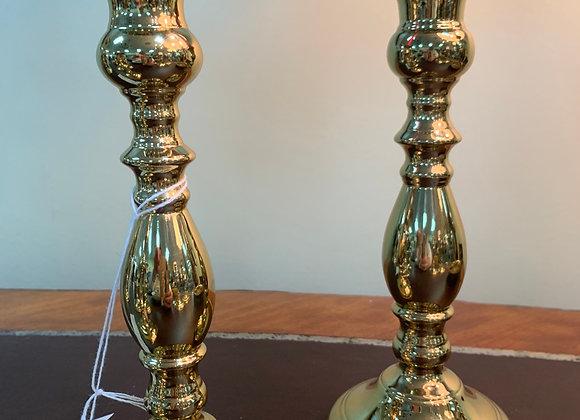 Brass Candle Sticks - Virginia Metalcrafters