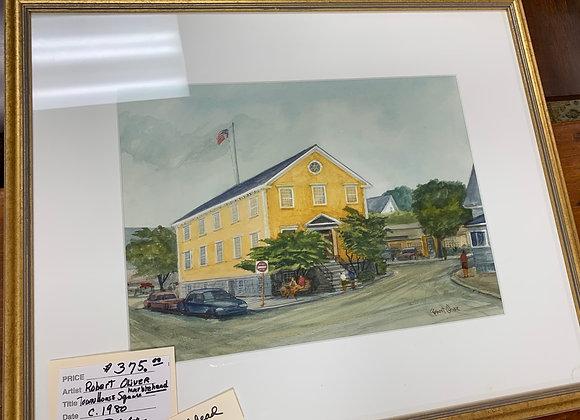 Marblehead watercolor by Robert