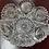 Thumbnail: Antique cut glass bowl