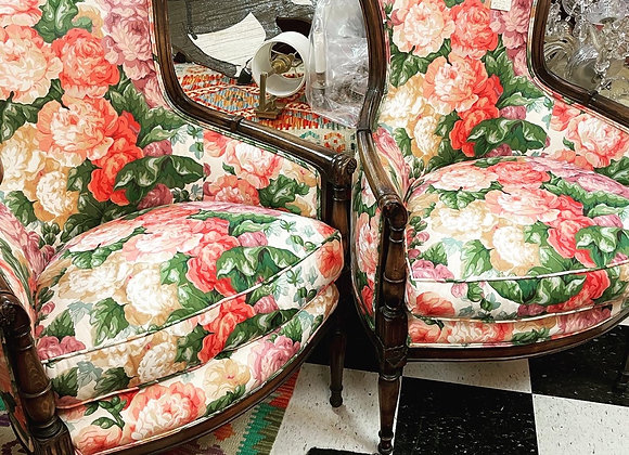 Pair of chairs, price for the pair.