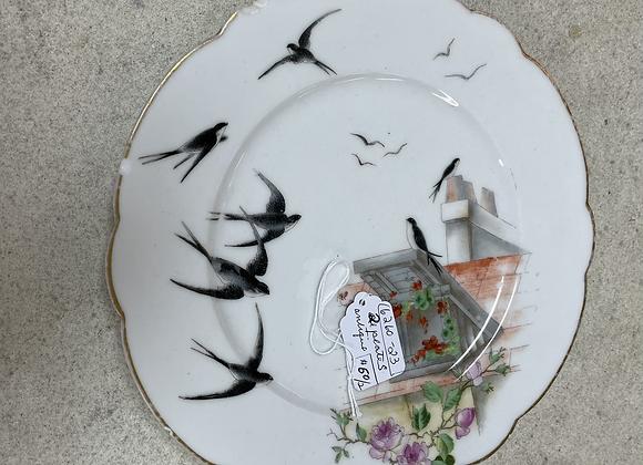 Antique plates (2)
