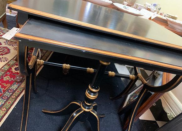 Black Gilt Nesting Tables