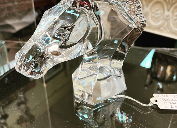 Baccarat horse head