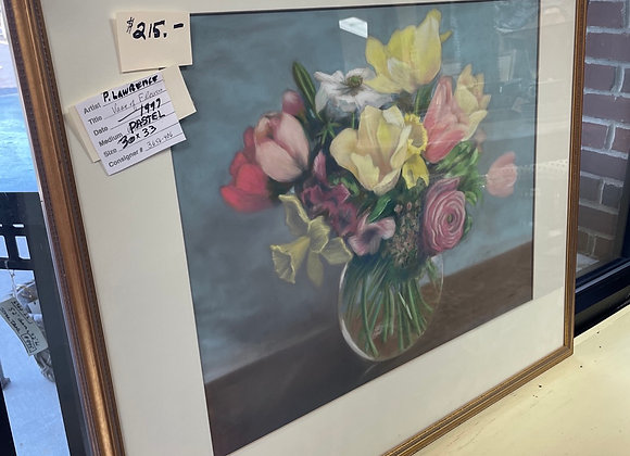 Pastel Flower Art