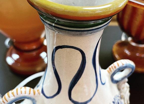 Glazed Portuguese Vases