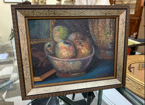 Still life oil from 1953