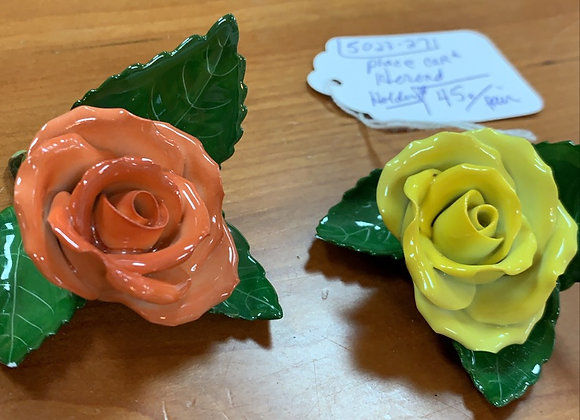 Herend place card holders (2)