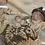Thumbnail: PAIR Antique hand stitched silk art